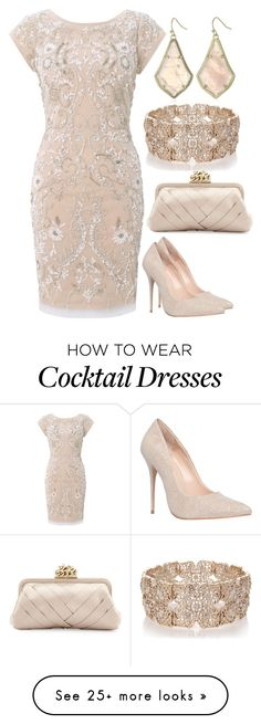 """Let The Festivities Begin #34"" by mscody on Polyvore featuring Aidan Mattox, Carvela, Franchi, Kendra Scott and Oasis"