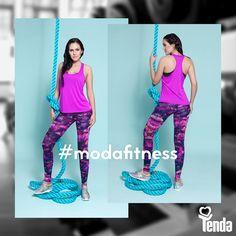 Malhar com estilo é se superar por meio dos exercícios físicos usando roupas confortáveis, que favorecem a transpiração e absorção da umidade, que aderem ao corpo e facilitam as práticas esportivas. #Tenda