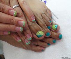 Fresh Green_2 by Sonal_Vermilion - Nail Art Gallery nailartgallery.nailsmag.com by Nails Magazine www.nailsmag.com #nailart