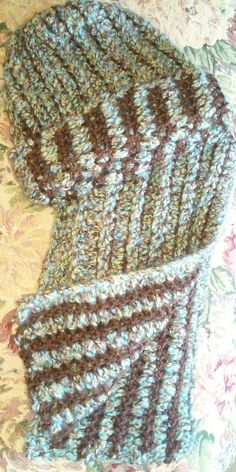 Check out this item in my Etsy shop https://www.etsy.com/listing/225576048/mens-hat-and-scarf-setmulti-colored-mens