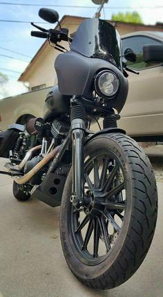 Club style Harley dyna