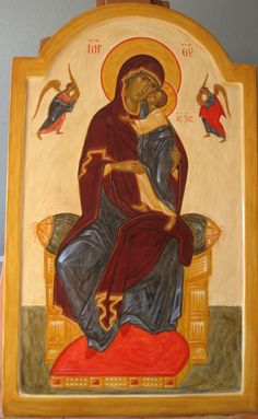 Mother of God Enthroned 2015