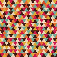 retro triangle seamless pattern by ZIRSOLOSTUDIO on @creativemarket