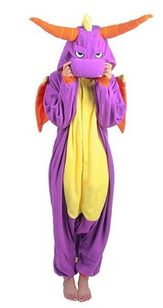 Spyro Onesies for Adults Dragon Costume Women a388e16a5