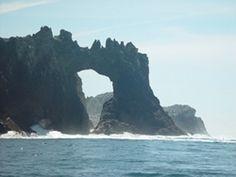 Farrallon Islands near San Francisco Bay