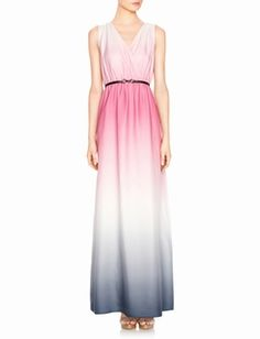 Ombre Dyed Maxi Dress  #Love  #OmbreDress