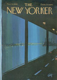 Arthur Getz : Cover art for The New York 2178 - 12 November 1966