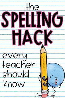 Help your students become better spellers with the spelling hack that every teacher should know! It is mind-blowing how effective as well as how simple it is and easy for students to use! Spelling Word Activities, Spelling Rules, Spelling Practice, Listening Activities, Spelling Ideas, Dyslexia Activities, First Grade Spelling, Spelling For Kids, Guided Reading Activities