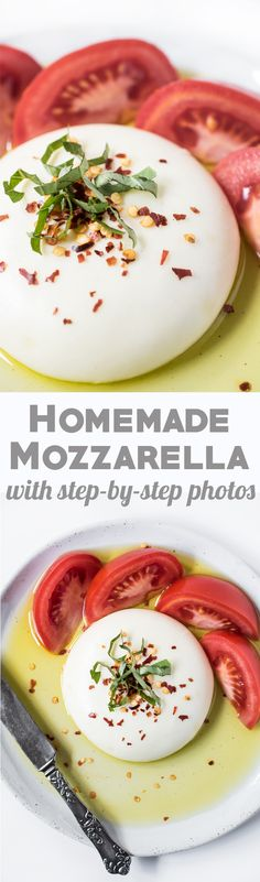 Make Homemade Mozzarella in just 30 minutes! Step-by-step photos included!