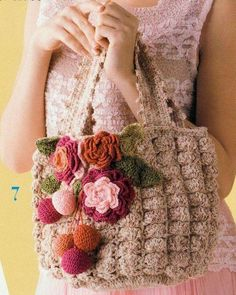 Crochet bags - Blog-creative world