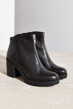 Vagabond Front Zip Grace Ankle Boot