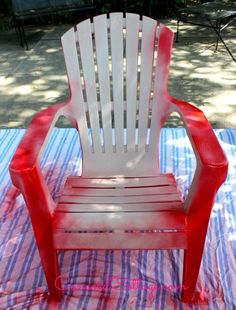 High Quality Paint Your Plastic Chairs. Spray Paint PlasticHow To ...