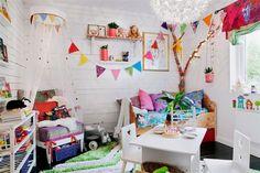 Una preciosa casa rebosante de color. | Decoración