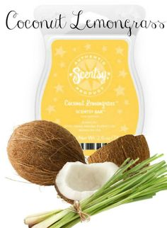 Coconut Lemongrass Scentsy Bar Place Your Order Today at: http://danielawattsxo.scentsy.us Follow Me on FaceBook for new products, sales,  and even FREE samples! at: https://www.facebook.com/danielawattsxoscents
