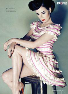 Dita von Teese photograped by Georges Antoni