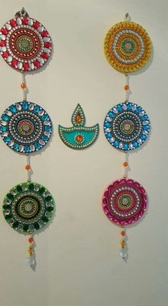 Diy crafts with cds, old cd crafts, cd diy, hobbies and crafts, Cd Diy, Diy Crafts With Cds, Old Cd Crafts, Hobbies And Crafts, Crafts For Kids, Arts And Crafts, Diwali Diy, Diwali Craft, Diwali Lamps