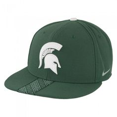 newest 3c48c 62f1c Michigan State University 2017 Nike Sideline Flat Bill Snapback Hat At  Campus Den Michigan State University