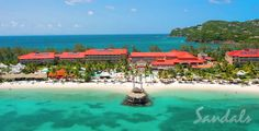 The Beautiful Sandals Grande St. Lucian.