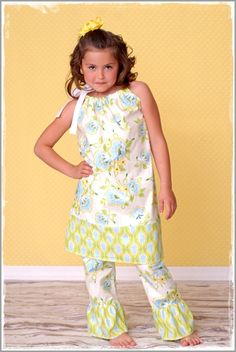 Ruffle Pants for Girls by Boutique Elli'Ette . FREE SHIPPING