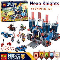 BELA Nexus Knights Fortrex Castle Model Building Block Toy Fox Axl Minifigures LEGOed bricks Compatible 70317  Educational - http://toysfromchina.net/?product=bela-nexus-knights-fortrex-castle-model-building-block-toy-fox-axl-minifigures-legoed-bricks-compatible-70317-educational