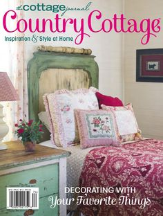 Cottage Bedroom Decor, Shabby Chic Decor Living Room, Cottage Style Decor, Cottage Interiors, Country Cottage Decorating, Country Interiors, Cottage Bedrooms, Granny Chic Decor, French Country Cottage