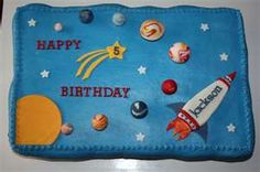 solar system cakes