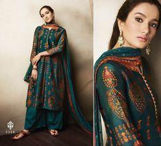 Indian Bollywood Designer Shalwar Suit Ethnic Salwar Kameez New Dress GHB Indian Suits, Indian Attire, Indian Ethnic Wear, Designer Punjabi Suits, Indian Designer Wear, Indian Designers, Pakistani Dresses, Indian Dresses, Shadi Dresses