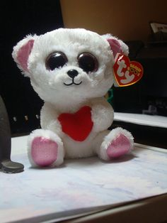 5c032046462 New TY Beanie Boos Sweetly the Bear  Ty  11.99 Free Shipping! Ty Beanie Boos