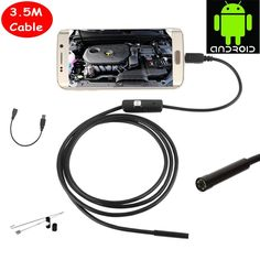 Android USB Endoscope IP67 Waterproof Inspection With 3.5M Cable CD Driver Borescope. Technology: PinholeIR Distance(m): /Power Supply(V): /Power Consumption(W): /Sensor: CMOSAlarm Action: Local AlarmShips From: ChinaDimensions (L x W x D)(mm): /Special Features: Waterproof / WeatherproofViewing Angle (Degree): 60Supported Mobile Systems: AndroidConnectivity: Closed System/CCTV WirelessSensor Brand: SONYSupported Operating Systems: Windows 98Supported Operating Systems: Windows XPSupported…
