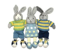 I love Julie Williams Little Cotton Rabbits patterns.  I have them all and they never disappoint.