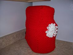 Free Pattern for Crocheted Kitchen Aid Stand Cover | Grams Home Cooking