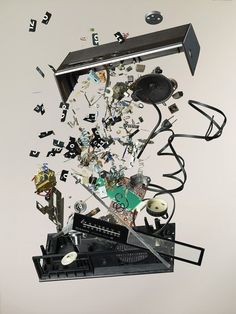 from the serie Disassembled Objects