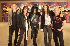 Slash with Aerosmith