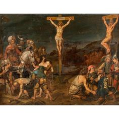 Buy online, view images and see past prices for Attr. to F. Venant, The Crucifixion of the Thieves, oak panel, reinforced. Invaluable is the world's largest marketplace for art, antiques, and collectibles.