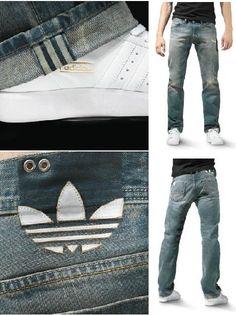 Adidas Originals x Diesel Jeans