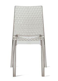 Židle HIPNOTIC transparentní & různé barvy