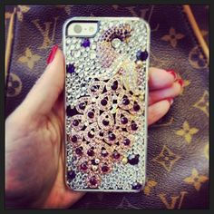 Still loving my #ambaliciouscases phone case.  So sparkly! #nevertoomuchbling