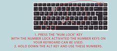 How to Type Symbols Using the ALT Key (with Mac and PC Lists)