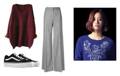 """""""Bo Mi's casual wear"""" by pantsulord on Polyvore featuring Alexander McQueen and Vans"""