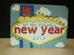 Lawn Fawn - Quinn's ABCs, Jessie's ABCs; Las Vegas Themed-Cards Crafts and Crops: Fabulous New Year!