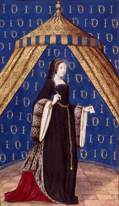 Very late 15th / Early 16th century French Gown - Les Épîtres d'Ovide