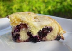 Blueberry Cheesecake Pull Aparts ~ made with Rhodes Frozen Bread Dough