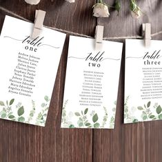 Eucalyptus Seating Chart Template, Editable Seating Cards, Wedding Seating Chart Template, Seating Chart Sign,Instant Download Templett G021