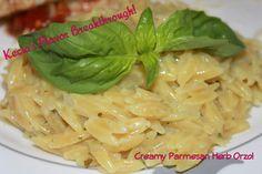 Creamy Parmesan Herb Orzo