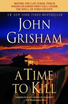 The 1st time I read A Time to Kill, I had to put it down. My daughter was a few years younger than the little girl in the book...as a mom, reading about and understanding the horror of the incident was too much. Eventually I finished the book. Since then I've read it several times. It still gets to me...but I cheer for Tonya's survival...I'm still amazed at the love a dad had for his little girl.