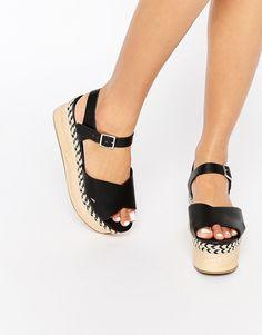 ASOS TOFFEE Flatform Sandals
