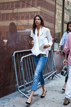 Géraldine Saglio ... cool, casual, simple looks