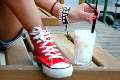 Converse & Nada colada - 76 day of 365 by Andreea Truia · 365 Project