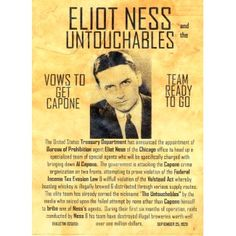 Eliot Ness by Lawrence Mercantile