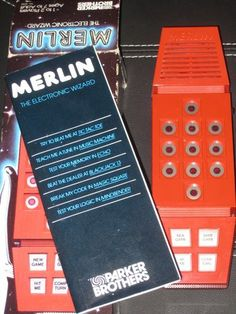 Merlin, so high tech for its time. My Childhood Memories, Childhood Toys, Sweet Memories, Kickin It Old School, Nostalgia, I Remember When, Oldies But Goodies, Good Ole, Ol Days